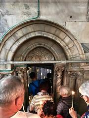 14 - Bejárat Jézus Krisztus születésének barlangjába / Vchod do Jaskyne Narodenia Pána