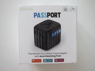 Passport - Global Travel Adapter