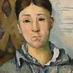 CEZANNE,1886-87 - Madame Cézanne en bleu (Houston) - Detail 11 thumbnail