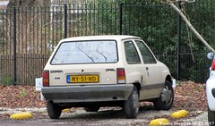 Opel Corsa 1.0 S 1984 (XBXG) Tags: ky51hd opel corsa 10 s 1984 opelcorsa corsaa staten bolwerk haarlem nederland holland netherlands paysbas vintage old classic german car auto automobile voiture ancienne allemande deutsch vehicle outdoor