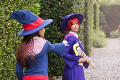 IMG_8803-1 (Mambrelli Marco Ph) Tags: littlewitchacademia streghe strega witch anime cosplay cosplayer palazzopfanner villapfanner luccaocmics lucca fantasy magia atsuko akko chariot ursulacallistis callistis shinychariot ursula croixmeridies croix atsukokagari