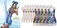 GLITTER HAWAI Colors (Shine Messmer - Glitter Fashion & Glitter Poses & ) Tags: glitter fashion hawai mesh appliers