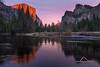 Winter Sunset Valley View (Darvin Atkeson) Tags: california yosemite national park halfdome elcapitan bridalveil forest sierra nevada mountains clouds rest valley canyon glacier darv darvin lynneal atkeson yosemitelandscapescom