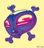 ALIEN (Maquiu) Tags: ilustracion ilustration digital alien pirata tres tonos
