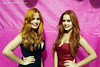 The twins birthday party (Wet and Messy Photography) Tags: wetlook wet wethair red redhair dress wetdress blackdress reddress pool brasil izabela bia water soaked