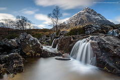 Auld Faithful (Damon Finlay) Tags: glencoe scottishhighlands scottish highlands stob etive mòr stobdearg buachailleetivemòr buachaille rivercoupall river coupall waterfall mountains water watermovement cloudmovement clouds nikon d750 nikond750 nikkor 1635mm f4 nikkor1635mmf4 long exposure longexposure lee big stopper leebigstopper landscape islands highlandsandislands scotland wilderness