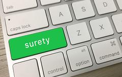 Surety Key (CreditDebitPro) Tags: surety keyboard button