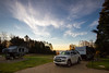 Early morning Fundy Park (mark.a.m.) Tags: early morning sunrise clouds national park fundy new brunswick canada camping rv rving 4runner