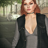 🍎 baddie (Apple aka Ossia) Tags: maitreya catwa stealthic song spirit nash veechi vibes miss chelsea coral lacey hair ginger freckles n21 n 21 twenty one district 20 district20 girl city portrait self avatar second life sl secondlife blog blogger bloging