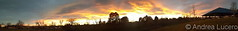 November 19, 2017 - Panorama of the amazing sunset. (Andrea Lucero)