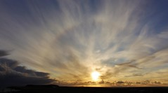 Sun Halo  _MG_3653 (Ronnierob) Tags: sunhalo sumburgh fairisle clouds skies shetlandisles
