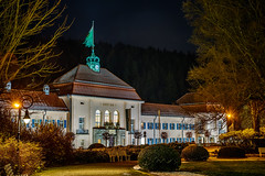 Albert Bad - Bad Elster, Saxonia (dejott1708) Tags: albert bad elster saxonia kur spa town architecture night shot hdr long exposure winter