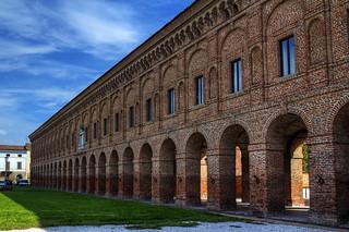 Sabbioneta, la Galleria degli Antichi - The Gallery of the Ancients in Sabbioneta