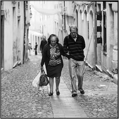 Forever together_Hasselblad (ksadjina) Tags: 6x6 carlzeisssonnar150mmf14 coimbra hasselblad500cm kodak400tmax nikonsupercoolscan9000ed october2017 porto portugal rodinal analog blackwhite film scan street