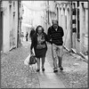 Forever together_Hasselblad (ksadjina) Tags: 6x6 carlzeisssonnar150mmf14 coimbra hasselblad500cm kodak400tmax nikonsupercoolscan9000ed october2017 porto portugal rodinal analog blackwhite film scan street