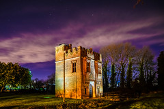the tower (Paul Wrights Reserved) Tags: tower night nightphotography nighttime stars cloud astrophotography landscape skyscape colour building buildings trees sky