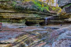 LaSalle Canyon Wide View (kendoman26) Tags: hdr nikhdrefexpro2 niksoftware nikon nikond7100 tokinaatx1228prodx tokina tokina1228 travelillinois enjoyillinois autumn autumncolors fall fallcolors waterfall