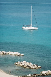 Man and yacht. Italy 17