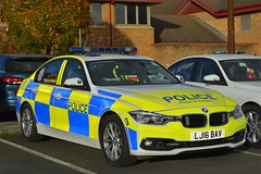 LJ16 BAV (S11 AUN) Tags: northumbria police bmw 330d 3series xdrive saloon anpr traffic car roads policing unit rpu motor patrols 999 emergency vehicle lj16bav