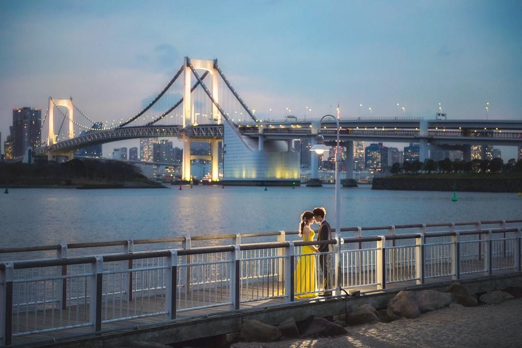 東京婚紗 彩虹橋婚紗拍攝