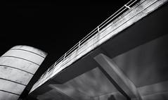 Tinside Lido. (Go placidly amidst the noise and haste...) Tags: plymouth artdeco lido tinside architecture contrast mono blackandwhite blackwhite building angle rails railings southwest westcountry seafront stark harsh blackwhitepassionaward