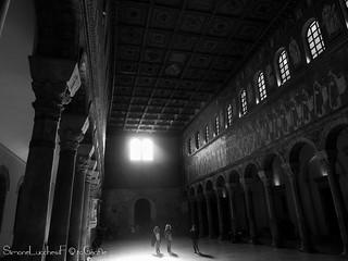 Interno di Sant'Apollinare Nuovo - Ravenna