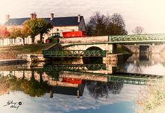 Ouzouer sur Trezee (touflou) Tags: bridge ponts canal loiret france reflets