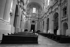 St. Kajetan (wpt1967) Tags: architektur eos60d kirche kirke münchen schief stkajetan theatinerkirche tokina1116mm bw church munich sw wpt1967