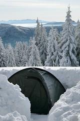 Winter camping (Paweł Błaszak) Tags: camping poland snow winter beskidy mountains