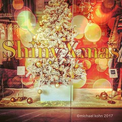got off the train in Nagasaki... this department store window was looking me in the face... I do like this holiday greeting #shinyxmas #shiny #xmas (MichaelKohn_TO) Tags: got off train nagasaki this department store window was looking me face i do like holiday greeting shinyxmas shiny xmas
