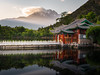 A drop of golden sun (Nichan Naratthakit) Tags: lijiang china pool lake ray reflection chinese architecture landscape landmark sky shangrila asia eastasia travel tourism tour sun mountain snow dusk ancient old attraction summer nikkor nikon 2485mm d610 land