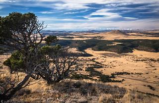 Where the plains meet the mountains