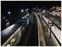 Night Light (Gingydadtog) Tags: blackcountry chilternrailways class68 cradleyheath cradleyheathstation drs diesel locomotive passengertrain westmidlands