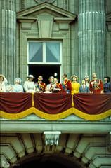 The Royal Family (alamond) Tags: british royalfamily queen elizabeth prince philip celebration buckingham palace balcony london england 1983 nikon em troopingofcolors