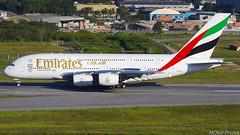 Emirates Airlines - A6-EEV - Airbus A380-861 (MObst Aviation Photos) Tags: emirates airlines a6eev airbus a380861 gru sbgr airport aeroporto guarulhos cumbica dubai dxb sao paulo brasil