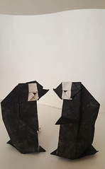 Baby Penguin (Danielle Verbeeten) Tags: origami