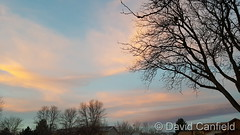 November 22, 2017 - A pastel colored sunrise. (David Canfield)