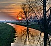 Good morning (Tobi_2008) Tags: sonnenaufgang sunrise landschaft landscape bäume trees arbres flus river sachsen saxony deutschland germany allemagne germania platinumheartaward