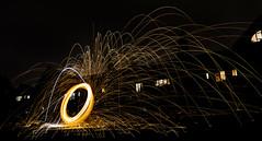 171202 3305 (steeljam) Tags: steeljam nikon d800 lightpainters wire woll spinning o2 isle dogs beach long exposure