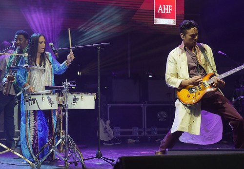 AHF World AIDS Day Concert featuring Sheila E Becky G, and Yandel