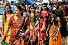 Girls, Thiruvananthapuram (Valdas Photo Trip) Tags: india kerala thiruvananthapuram streetphotograhy