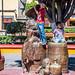 2017 - Mexico - Tequila - Plaza Principal Bronze Sculpture