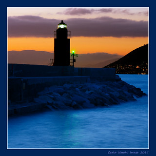 The lighthouse of Camogli