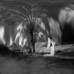 northern lights (old&timer) Tags: background infrared blackandwhite filtereffect composite surreal song4u oldtimer imagery digitalart laszlolocsei