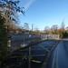 Redditch Station - Network Rail gate