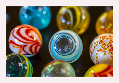 Marbles or planets? (Karon Elliott Edleson) Tags: marbles closeup planets solar system 7dwf macrowednesdays game