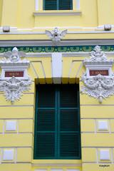 Vietnam-Ho Chi MInh City:Central Post Office III. (roxykon) Tags: vietnam indochina seasia hochiminhcity windows pentaxk5 tamron18250mm