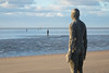 Another Place 09 nov 17 (Shaun the grime lover) Tags: liverpool sculpture seashore water beach sand tide statues cast iron antonygormley anotherplace crosby shore installation art human figures blundellsands