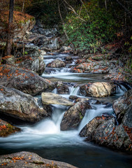 Upper Tallulah River (C.Fredrickson Photography) Tags: autumn georgia tallulahriver water ©carlfredrickson2017 ga fall hdr november 2017 river uppertallulahriver lightroomclassiccc carlfredrickson topazclarity longexposure pscc taftcity clayton unitedstates us