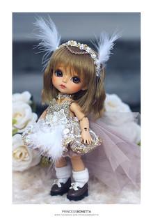 Lati Yellow . Happy Ver. Cinderella . Princess Bonetta